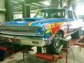 Nostalgic race car
