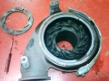 Power Stroke Diesel VGT (variable-geometry turbocharger) is disassembled to inspect for seized vanes